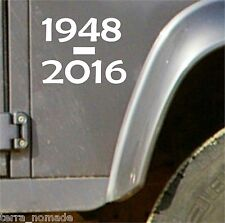 1948 2016 Land Rover Defender 90 110 autocollants, série decal, vinyle,