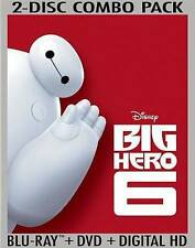 Big Hero 6 (Blu-ray/DVD 2015) Walt Disney