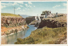 CPA ISRAEL PALESTINE the river jordan le jourdain usine électrique power station