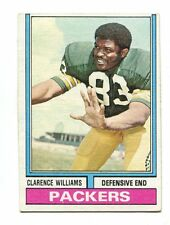 1974 Topps #349 Clarence Williams Green Bay Packers