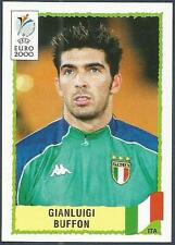 PANINI EURO 2000-BLACK BACKS- #167-ITALY-ITALIA-GIANLUIGI BUFFON