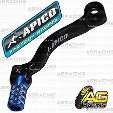 Apico Black Blue Gear Pedal Lever Shifter For KTM XC-W 125 2017 17 Enduro