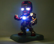 IRON MAN MARK 3 Captain America Movable Action Lighting Figure Brand New 14CM