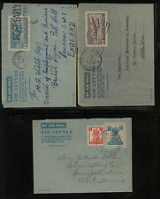 India    3  air  letter  sheets                 MM0520