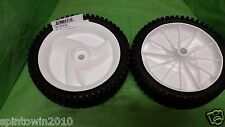 (2) CRAFTSMAN OEM 400246X427, 584465301 OEM.(2) WHEELS free shipping