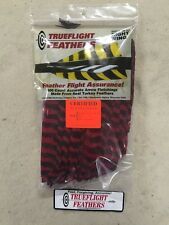 Trueflight Full Length Feathers Right Wing! 100 Pack. Red Barred