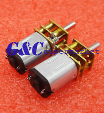 DC 12V 1000RPM Micro Speed Reduction Gear Motor with Metal Gearbox Wheel Shaft