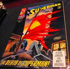 SUPERMAN  The Death of Superman  #75 comic book 1993