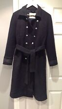 Lovely Black CLOSED WOMAN Wool Winter Coat Size M