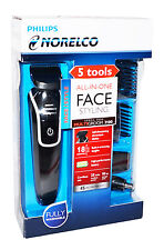 Philips Norelco FACIAL HAIR TRIMMER GROOMING KIT QG3330 DUAL VOLTAGE 100 -  240V