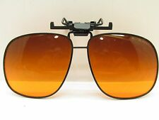 BLUBLOCKER AMBER SUNGLASS CLIP ON 60mm 72073