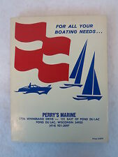 PERRY'S MARINE BOATING CATALOGUE General Reference Guide PB