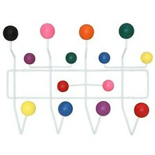 Kids Coat Rack Wall Mounted Hanging Clothes Hat Mid Century Modern Retro NEW