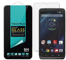 TechFilm® Tempered Glass Screen Protector Saver Shield For Motorola Droid Turbo