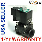 3/4 inch 12V DC VDC Plastic Nylon Electric Solenoid Valve NPT Gas Water Air