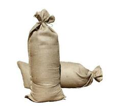 Flood Protection Hessian Sand Bags With Ties X 9 Size 838x357mm (10oz) NEW 9Pack