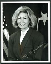 "Senator Kay Bailey Hutchison - 8""x10"" AUTOGRAPHED Glossy Photo - SILVER Sharpie"
