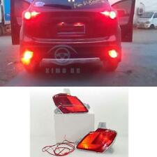 1 Pair OEM Rear Tail bumper Fog Lights Lamp Kit for Mazda CX-5 with Wire harnes