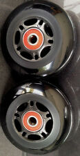 "3"" X 1""  Wheelchair Caster Wheels ""Rollerblade"" Quickie Tilite Sold By Pairs"