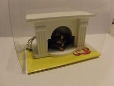 Kahlert Kamin 41663 mit Beleuchtung Ofen Puppenhaus Möbel Puppenstube