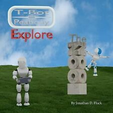 T-Bot and Peabody Explore the Zoo by Jonathan Fluck (2011, Paperback, Large...