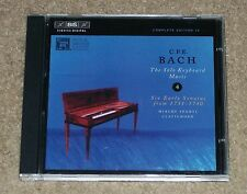Bach CPE The Solo Keyboard Music Volume 4 (CD) Six Early Seasons From 1731-1740