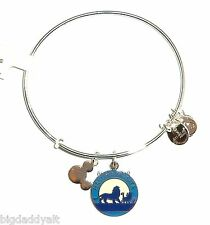 New Disney Parks Alex and Ani The Lion King Hakuna Matata Charm Bracelet Silver