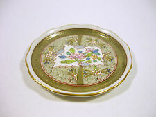 """HEREND, ORIENTAL CUBASH PIN TRAY  3.1"""", HANDPAINTED PORCELAIN, MINT CONDITION !"""