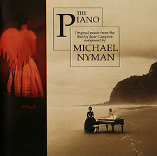 The Piano (1994) Original Motion Picture Soundtrack CD by Michael Nyman