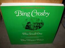 BING CROSBY / ORSON WELLES small one / happy prince stories ( children ) SEALED