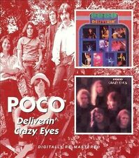 Deliverin'/Crazy Eyes [Remaster] by Poco (CD, Jan-2006, Bgo)