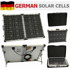 100W 12V folding solar charging kit for camper / caravan / boat 50W + 50W panel