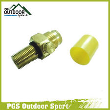 Paintball Co2 Tank Pin Valve Replacement w/Thread Cover
