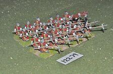 25mm Antigua China alabarderos 24 figuras (12279)