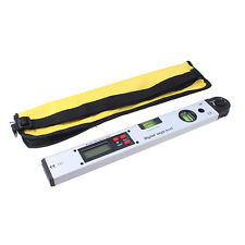 New Stainless LCD Digital Angle Finder Meter Electronic Protractor Spirit Level
