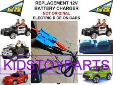 12V Charger - Kid Trax Dodge Ram Charger Police Mercedes Mini Cooper Jeep VW Bug