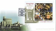 2017 Windsor Castle Limited Edition Stampex Overprint First Day Cover 2193 of 60