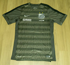 Santos FC Nike Player Issue Pre Match Training top 2015 Rare