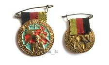 East german DDR GDR army NVA medal badge 1958 sports festival Warsaw Pact