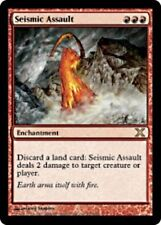 MTG X3: Seismic Assault, 10th Edition, R, Moderate Play - FREE US SHIPPING!