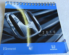 2010 Honda Element Manual Technology Reference Guide OEM Factory