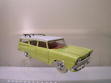 DINKY TOYS UK 193 RAMBLER CROSS COUNTRY YELLOW BODY/WHITE ROOF 1961 SCALE 1:43