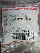 CARLINGSWITCH P/N  89F 5505 2GM54 73 XN