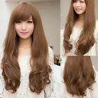 4 Colors Womens Full wigs Long Curly Wavy hair Wig Cosplay Party Halloween Gift