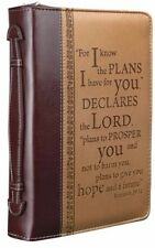 Bible Cover For Men Women Boys Leather Covers For Bibles Case Protector Large