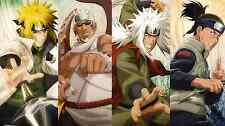Naruto Mentors  - Amazing 22in  X 34in ( Huge Wall Poster )  - FAST SHIPPING