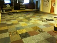 Carpet Tiles 720 sq ft Assorted Random Patterns   Free Shipping