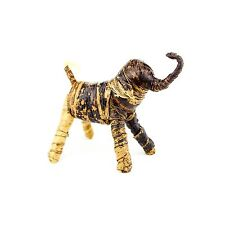 African Decor Handmade Banana Fiber Palm Elephant