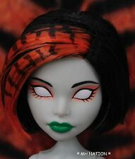 Monster High Scarah Screams FREAKY FUSION Nude Doll