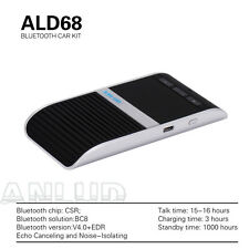 Bluetooth Handsfree Speakerphone Wireless Car Kit  Solar Powered Charger US Ship